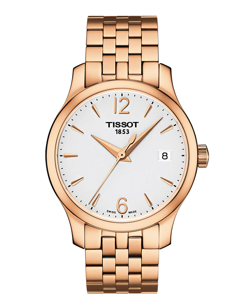 Ρολόι TISSOT T-Classic Tradition Rose Gold T0632103303700   brands tissot