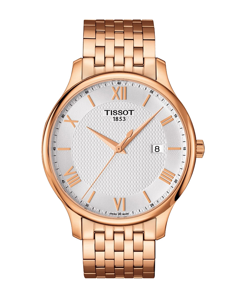 Ρολόι TISSOT Tradition Rose Gold T0636103303800   brands tissot t classic