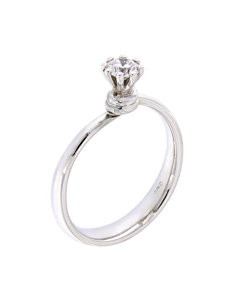 Δαχτυλίδι λευκόχρυσο μονόπετρο Κ18 με Διαμάντι   γυναικα δαχτυλίδια μονόπετρα με διαμάντια