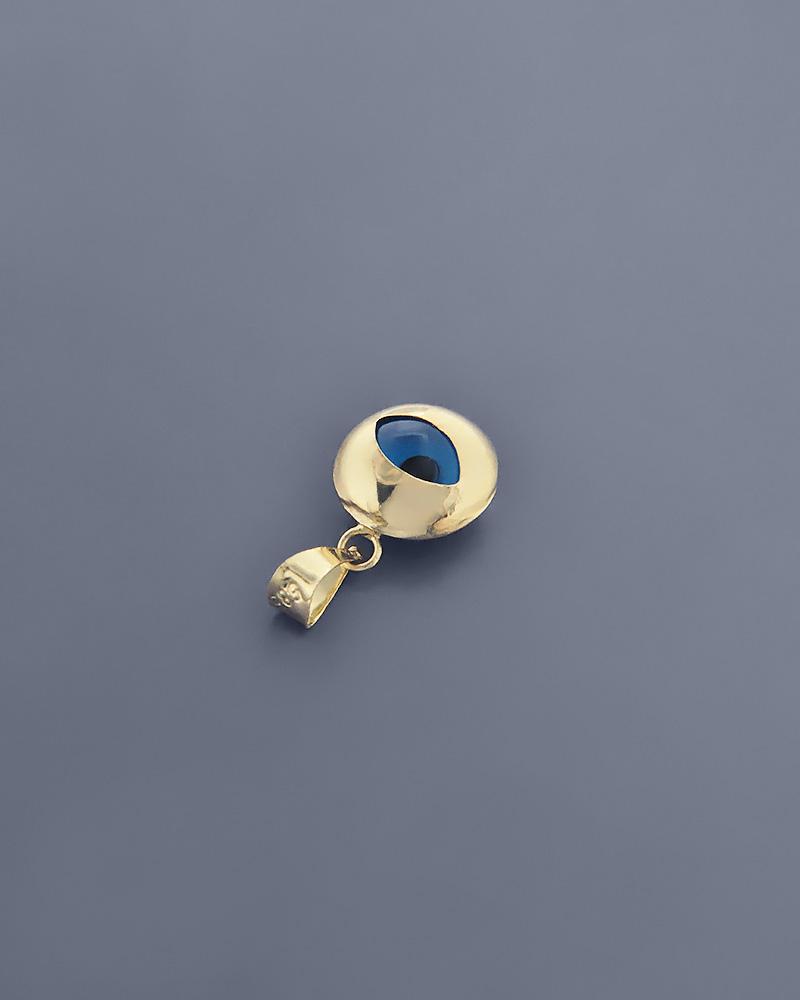 Κρεμαστό ματάκι χρυσό Κ14   κοσμηματα κοσμήματα με ματάκι
