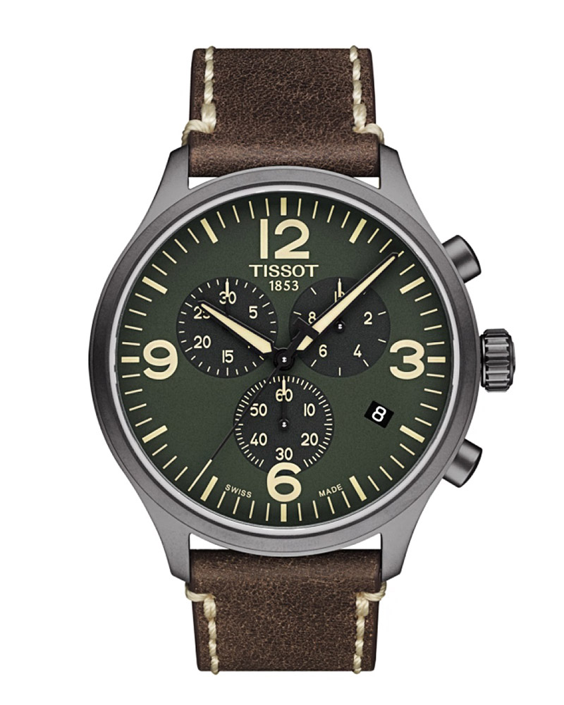 Ρολόι TISSOT Chrono XL Brown T1166173609700   brands tissot