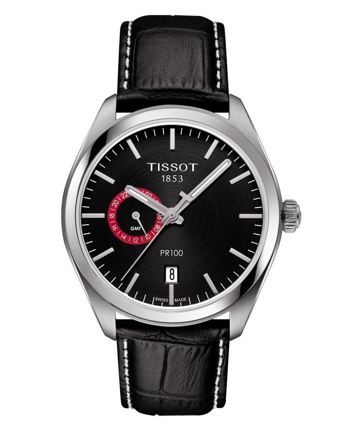 Ρολόι TISSOT PR 100 DUAL TIME T1014521605100   brands tissot