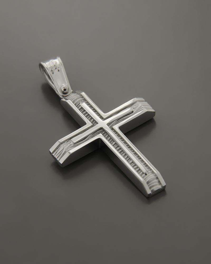 Σταυρός λευκόχρυσος K14   παιδι βαπτιστικοί σταυροί βαπτιστικοί σταυροί για αγόρι