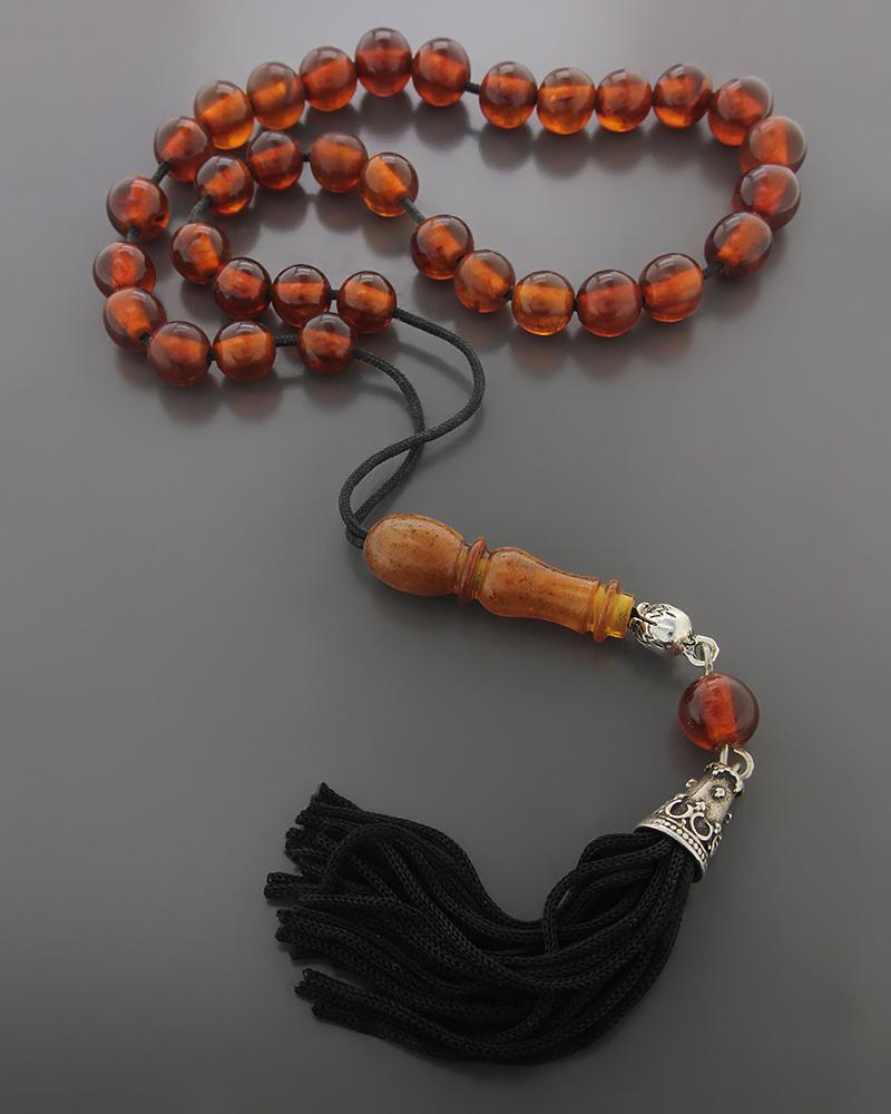 Κομπολόι από Κεχριμπάρι   δωρα κομπολόγια
