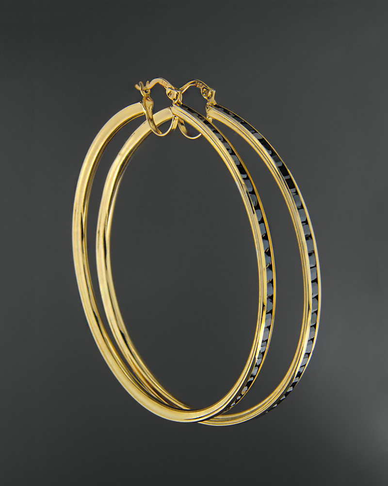 Σκουλαρίκια χρυσά Κ14 με όνυχα   γυναικα σκουλαρίκια σκουλαρίκια κρίκοι