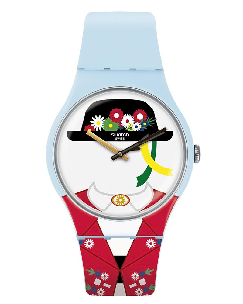 Ρολόι SWATCH Yodle SUOL103   brands swatch