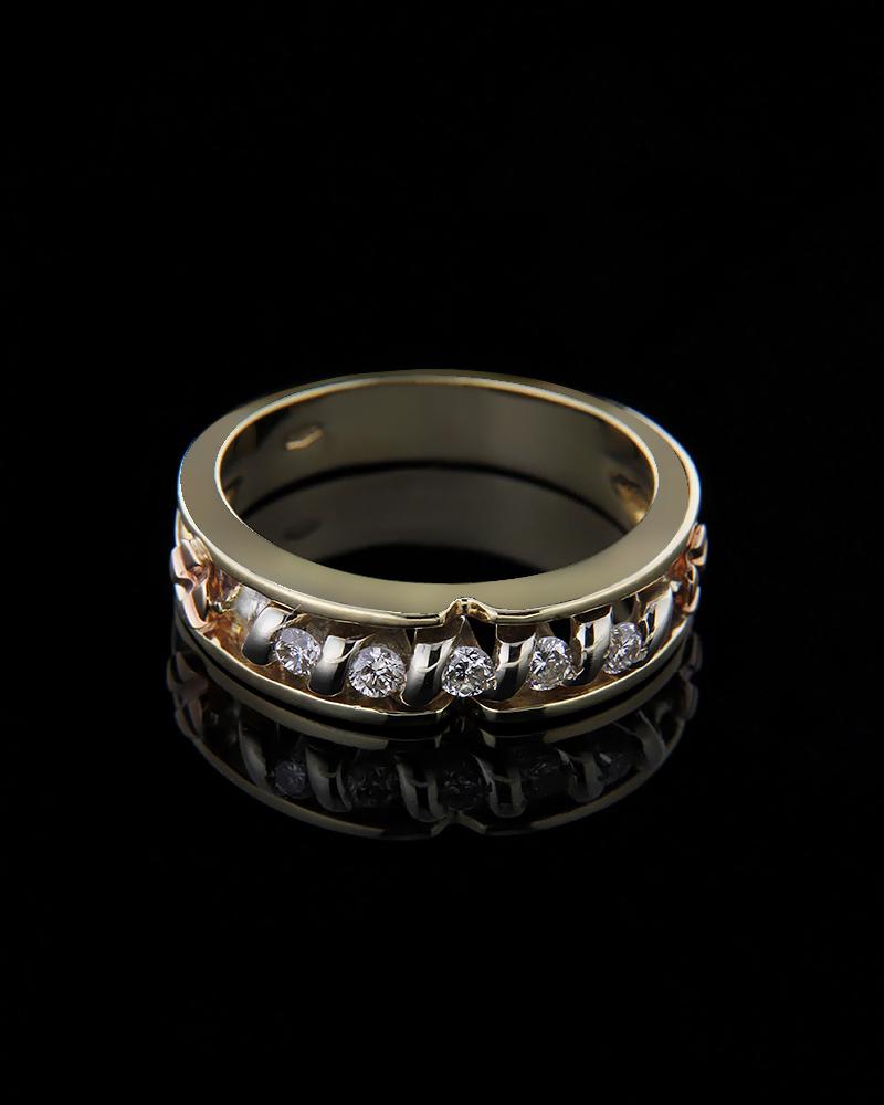Δαχτυλίδι χρυσό Κ18 με Διαμάντια κοπής BR   γυναικα δαχτυλίδια δαχτυλίδια χρυσά