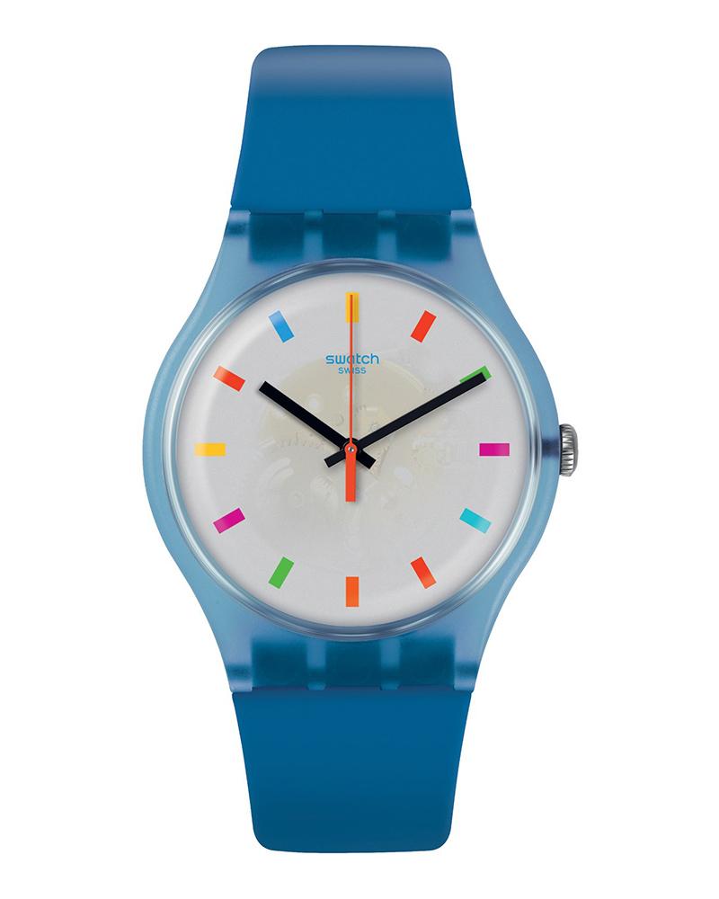 Ρολόι Swatch Color Square Blue SUON125   brands swatch