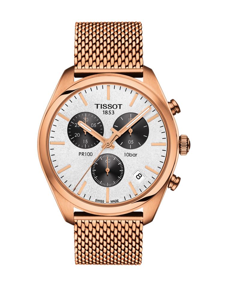 Ρολόι TISSOT PR 100 Chronograph T1014173303101   brands tissot t classic