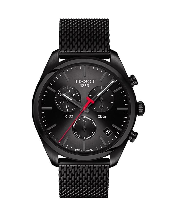 Ρολόι TISSOT PR 100 Chronograph T1014173305100   brands tissot t classic