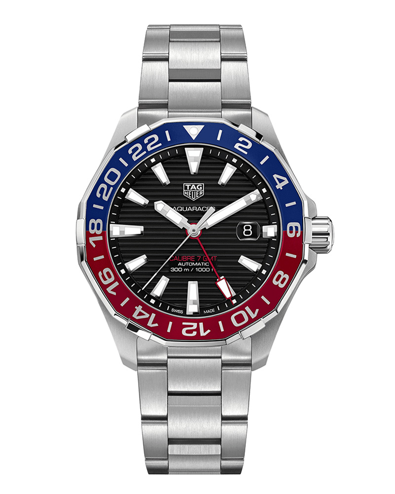 Ρολόι Tag Heuer Aquaracer Calibre 7 GMT WAY201F.BA0927   ρολογια tag heuer