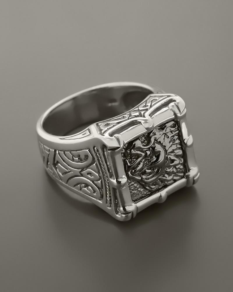 Ανδρικό δαχτυλίδι ασημένιο 925   ανδρασ δαχτυλίδια ανδρικά