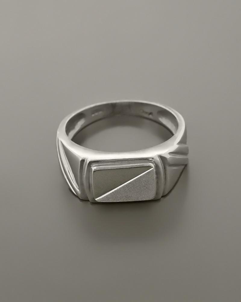 Δαχτυλίδι ανδρικό λευκόχρυσο Κ14   κοσμηματα δαχτυλίδια δαχτυλίδια ανδρικά