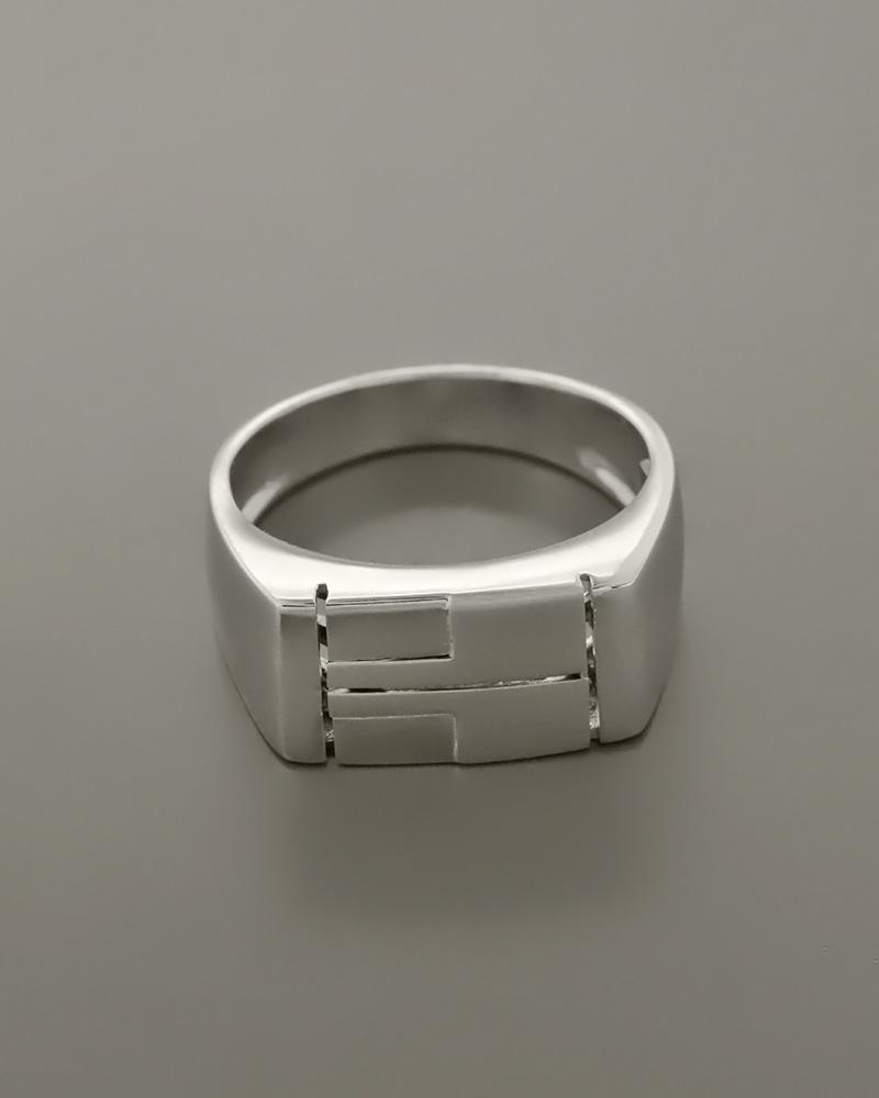 Δαχτυλίδι λευκόχρυσο Κ14   κοσμηματα δαχτυλίδια δαχτυλίδια ανδρικά