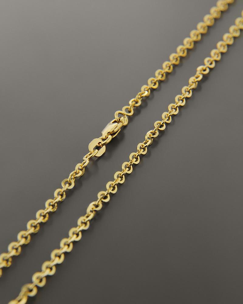Αλυσίδα λαιμού χρυσή Κ14 55cm   παιδι αλυσίδες λαιμού αλυσίδες χρυσές