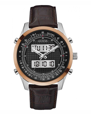 Ρολόι Guess analog-digital brown W0861G1