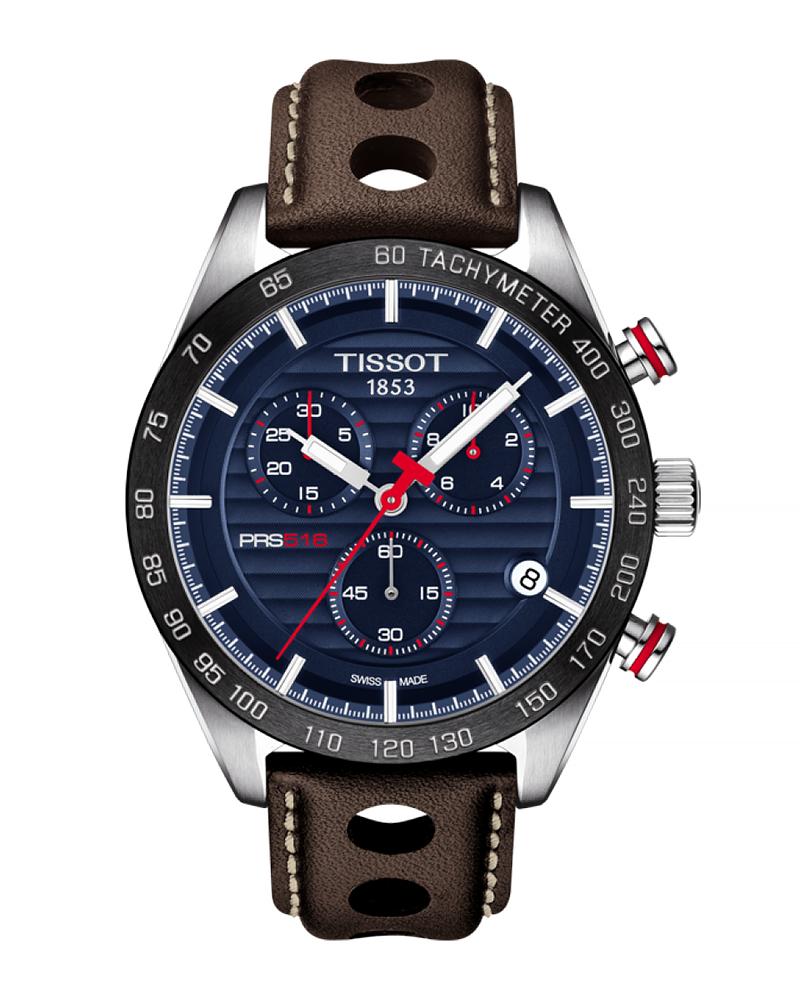Ρολόι TISSOT PRS 516 Brown T1004171604100   brands tissot t sport