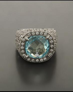 Δαχτυλίδι λευκόχρυσος Κ18 με Ζιργκόν fd8a2842a0e