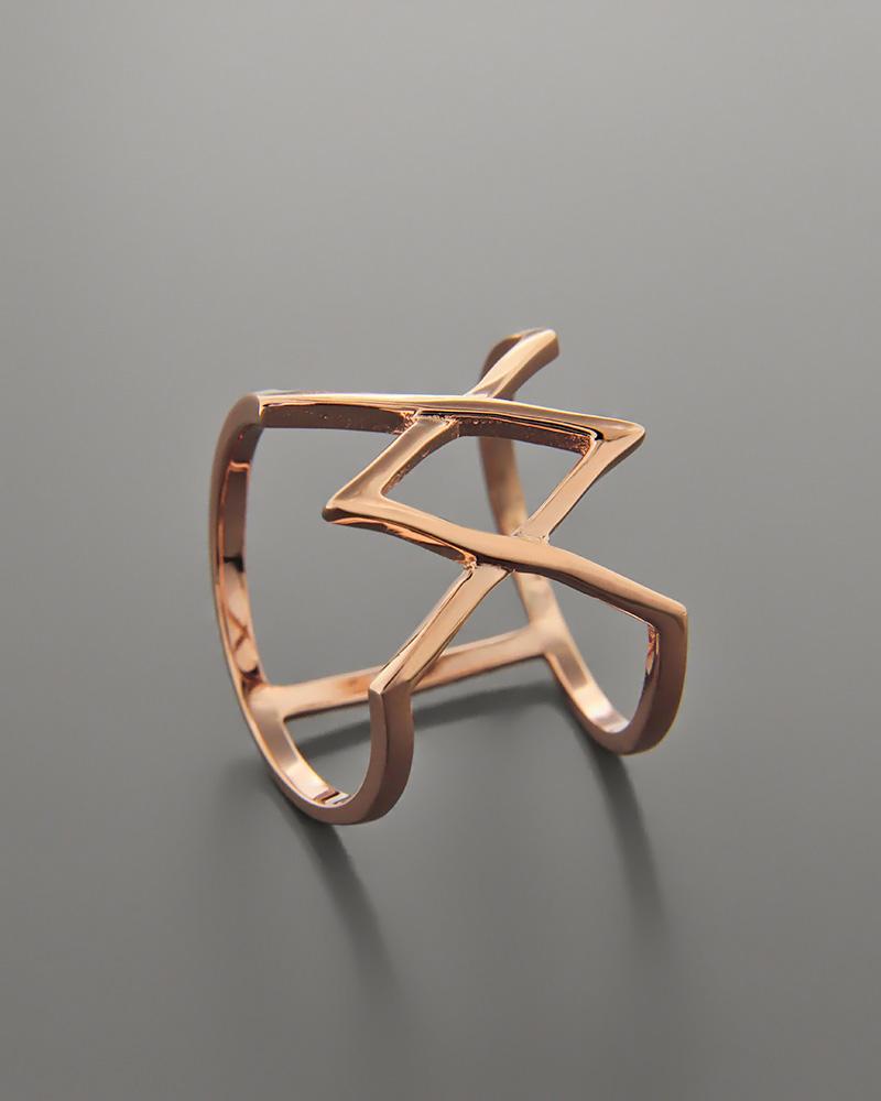 Δαχτυλίδι ασημένιο με Ζιργκόν RS3001   κοσμηματα δαχτυλίδια δαχτυλίδια fashion