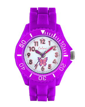 Ρολόι COLORI Kidz Collection Purple CLK012