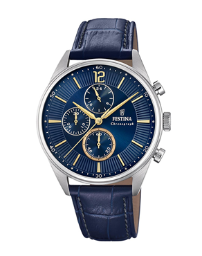 Ρολόι Festina Timeless Chronograph Blue F20286-3
