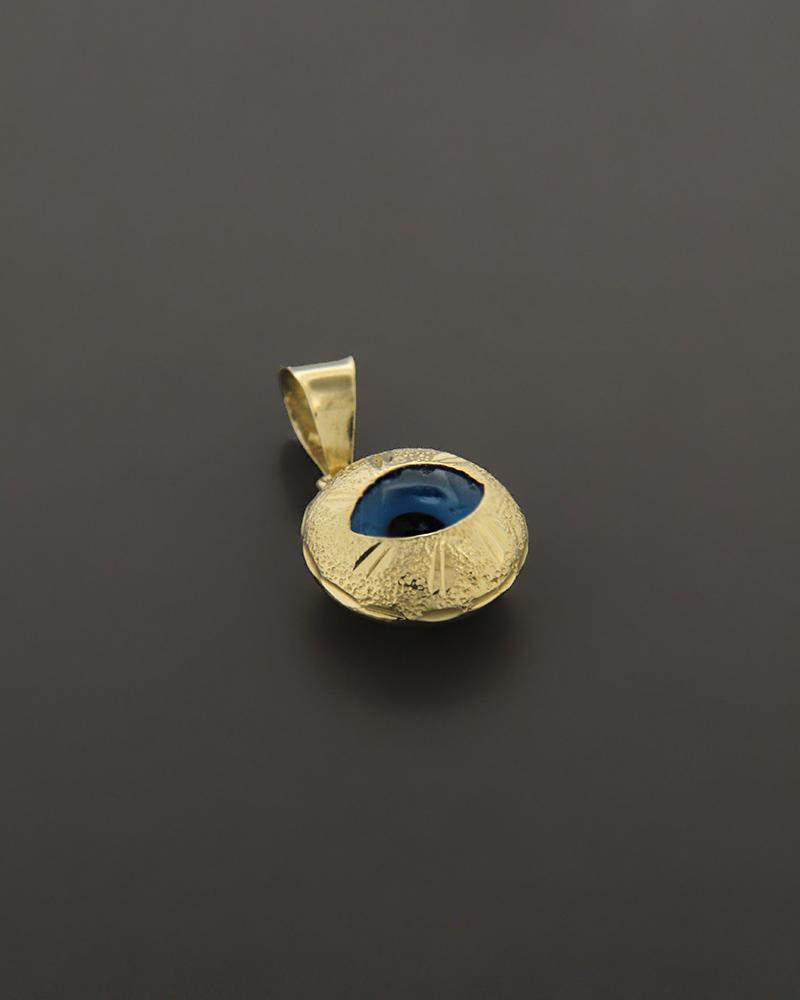 Κρεμαστό μάτι χρυσό Κ14   κοσμηματα κοσμήματα με ματάκι