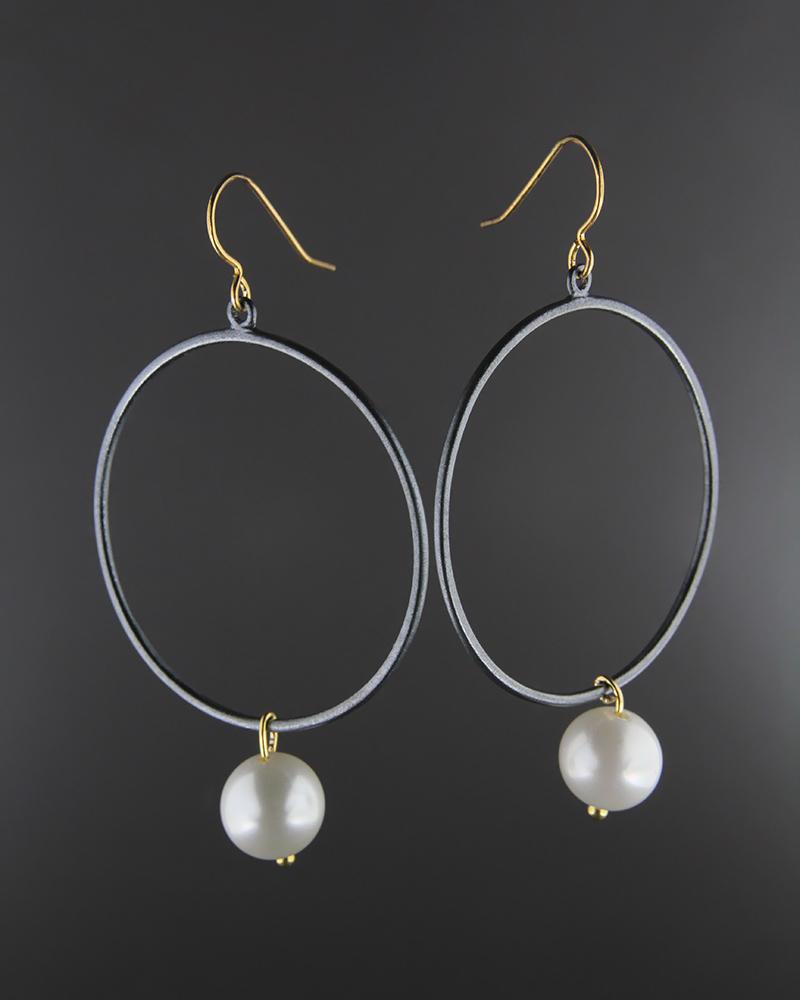 Σκουλαρίκια ασημένια 925 με Πέρλα   νεεσ αφιξεισ κοσμήματα γυναικεία