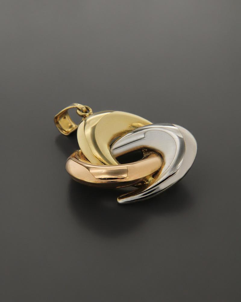 Μενταγιόν χρυσό, ροζ χρυσό & λευκόχρυσο Κ14   κοσμηματα κρεμαστά κολιέ κρεμαστά κολιέ λευκόχρυσα