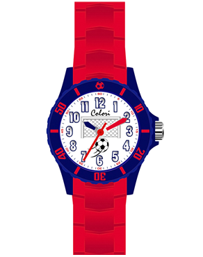 Ρολόι Colori Kids Red Rubber Strap CLK057