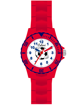 Ρολόι Colori Kids Red Rubber Strap CLK058
