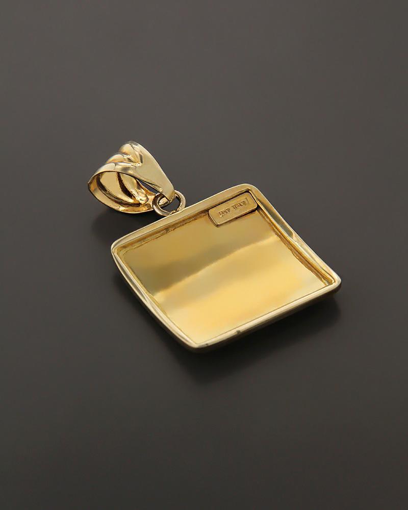 Μενταγιόν χρυσό Κ14   γυναικα κρεμαστά κολιέ κρεμαστά κολιέ χρυσά
