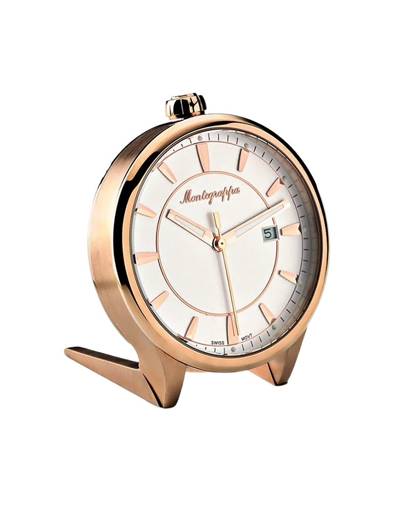 Montegrappa ρολοι Fortuna Table Clock IDFOTCRW   δωρα επαγγελματικά δώρα   είδη γραφείου