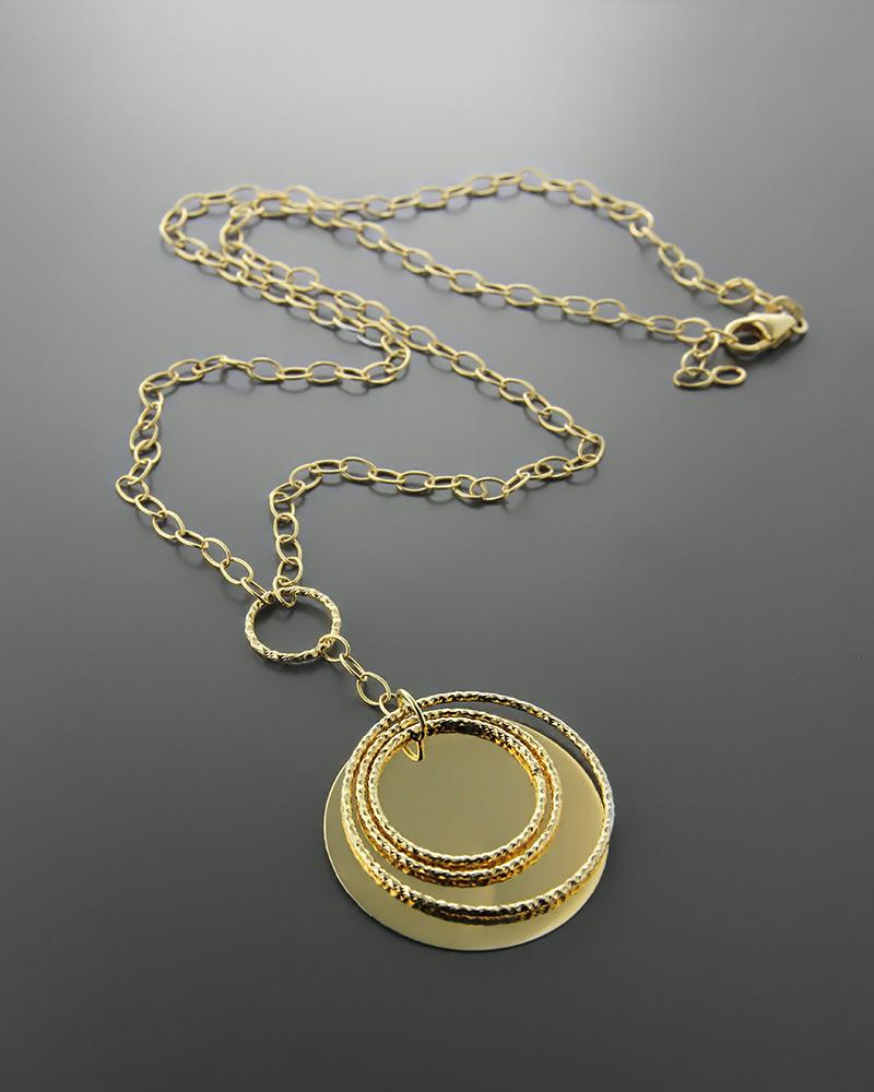 Κολιέ χρυσό Κ14   γυναικα κρεμαστά κολιέ κρεμαστά κολιέ χρυσά