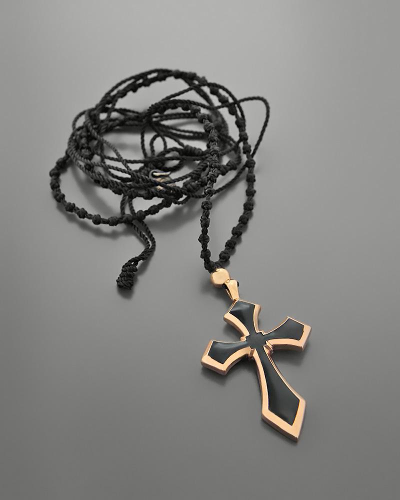 Κολιέ σταυρός ασημένιο 925 με σμάλτο   γυναικα κρεμαστά κολιέ κρεμαστά κολιέ ασημένια