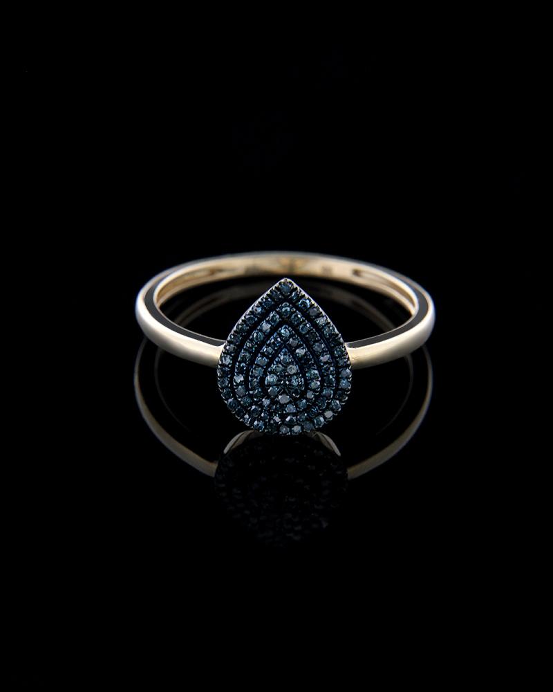Δαχτυλίδι χρυσό Κ14 με Διαμάντια   γυναικα δαχτυλίδια δαχτυλίδια διαμάντια