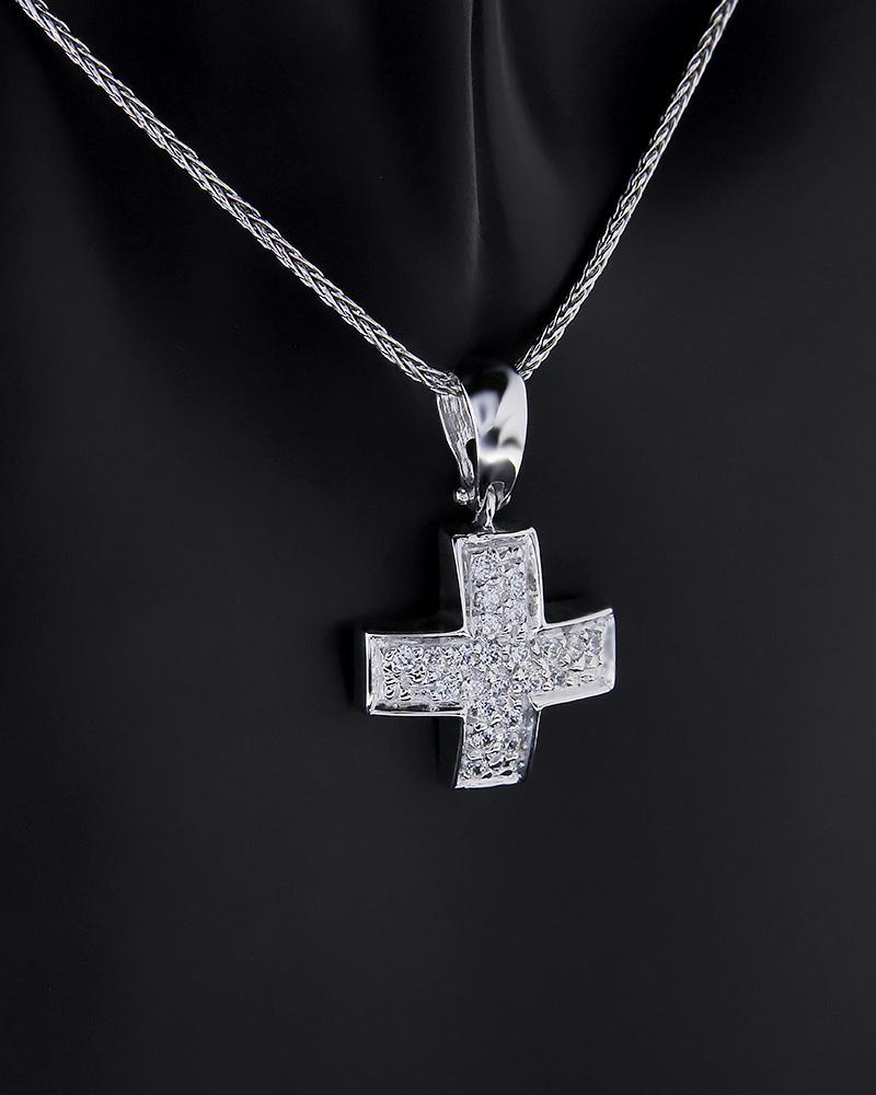 ΣΤΑΥΡΟΣ ΛΕΥΚΟΧΡΥΣΟΣ   κοσμηματα σταυροί με αλυσίδα