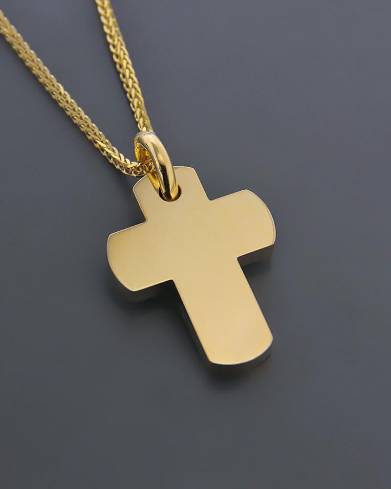 Σταυρός χρυσός Κ18   παιδι βαπτιστικοί σταυροί βαπτιστικοί σταυροί για αγόρι