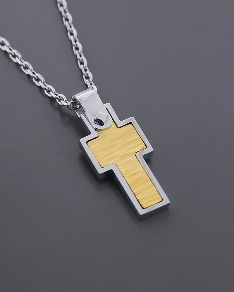 Σταυρός λευκόχρυσος και χρυσός Κ18   παιδι βαπτιστικοί σταυροί βαπτιστικοί σταυροί για αγόρι