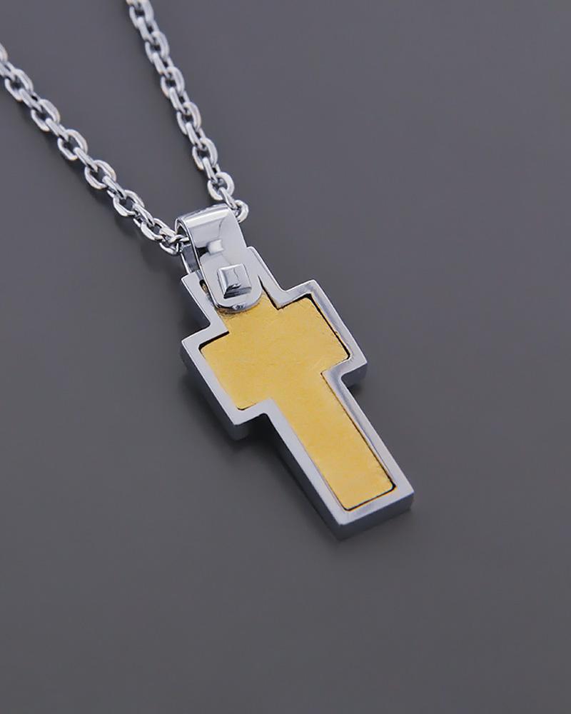 Σταυρός λευκόχρυσος και χρυσός Κ18   κοσμηματα σταυροί σταυροί ανδρικοί