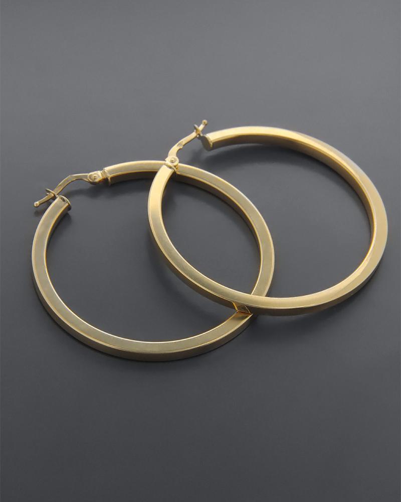 Σκουλαρίκια κρίκοι από χρυσό Κ9   γυναικα σκουλαρίκια σκουλαρίκια κρίκοι