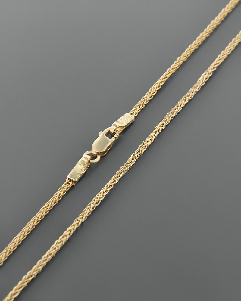 ΚΑΔΕΝΑ 50cm ΚΙΤΡΙΝΗ   παιδι αλυσίδες λαιμού αλυσίδες χρυσές