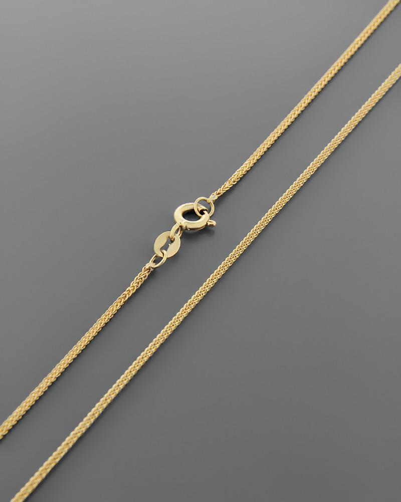 ΚΑΔΕΝΑ ΚΙΤΡΙΝΗ 50cm   παιδι αλυσίδες λαιμού αλυσίδες χρυσές