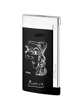 S.T. Dupont Slim7 Le Picasso Black/Chrome D027105