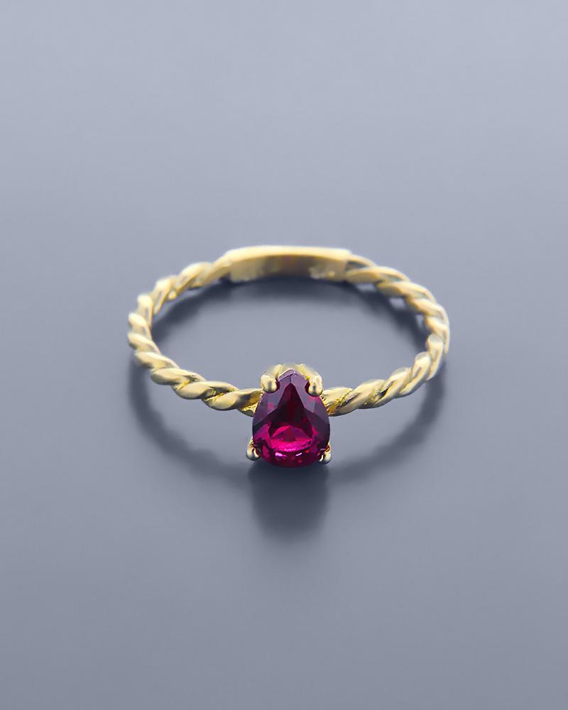 ΔΑΧΤΥΛΙΔΙ PS 260(8364)   γυναικα δαχτυλίδια μονόπετρα με ζιργκόν