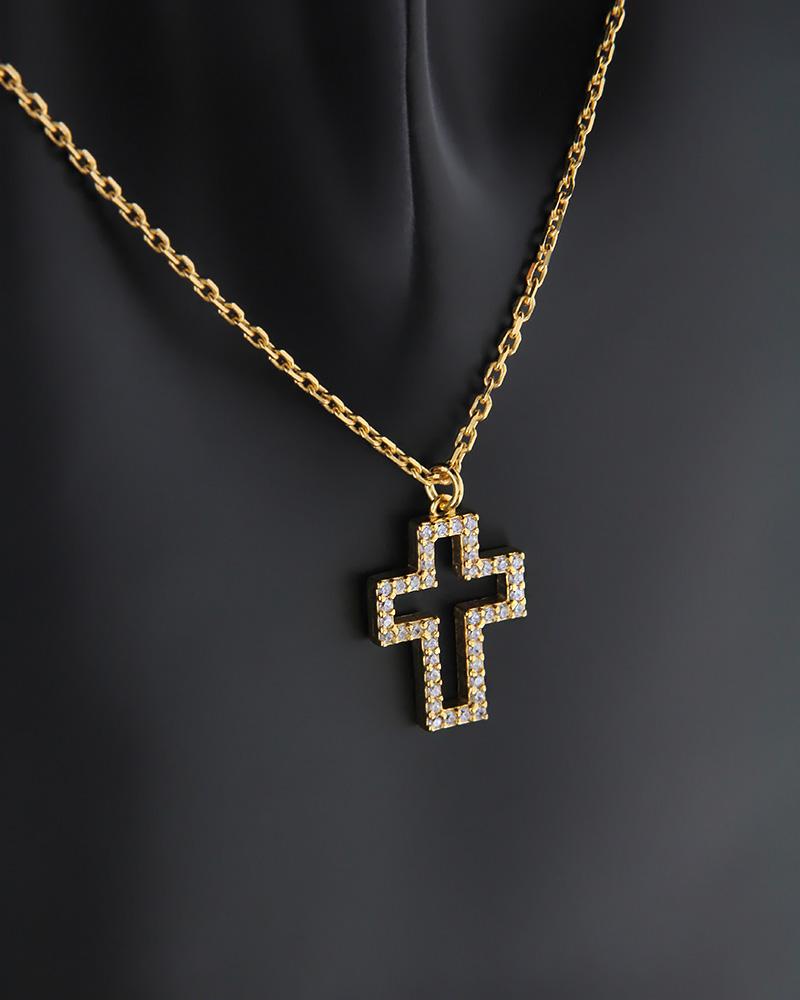 ΚΟΛΙΕ ΑΣΗΜI   γυναικα σταυροί σταυροί ασημένιοι