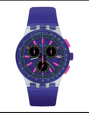 Ρολόι SWATCH Vibe PURP-LOL Chronograph Purple SUSK400 e9dc6cf11d9