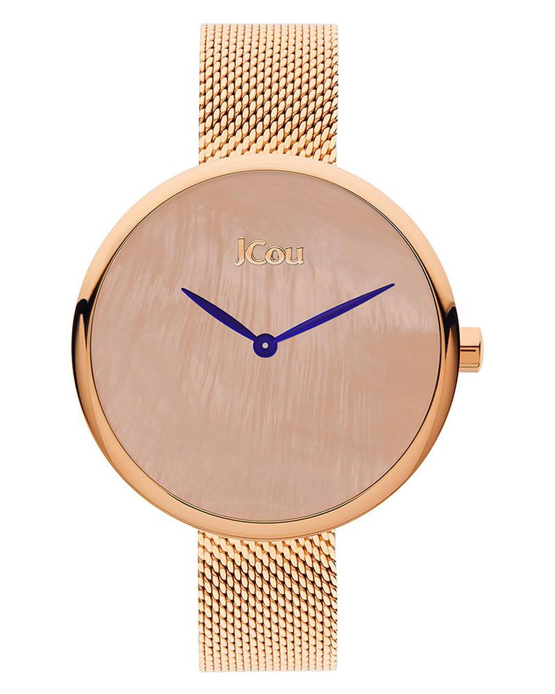 Ρολόι JCOU Luna Rose Gold JU17115-5   ρολογια jcou