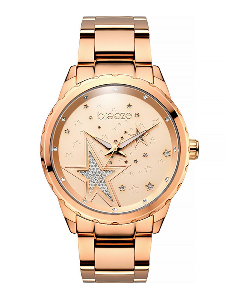 Ρολόι BREEZE Starstruk Crystals Rose Gold 210791.4   brands breeze