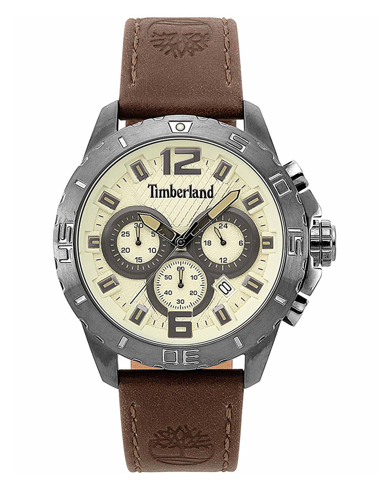 Ρολόι TIMBERLAND Harriston Chronograph Brown 15356JSU/07   brands timberland
