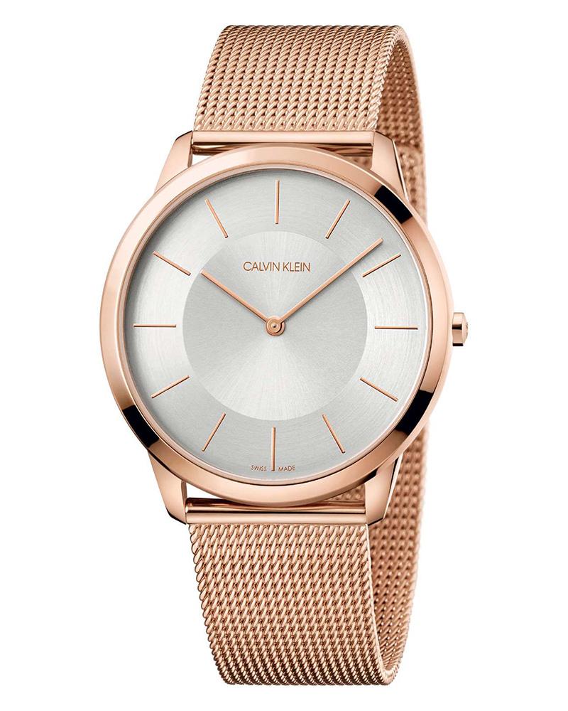 Ρολόι Calvin KLEIN Minimal Rose Gold Stainless K3M2T626   brands calvin klein